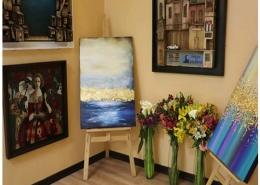 نمایشگاه 98 هنرستان روشنگران